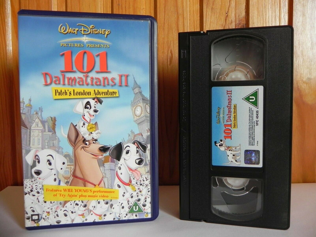 101, 2003, Adventure, Animated, Children's & Family, Dalmatians, Disney, Jim Kammerud, Kids, London, No, PAL, U, United Kingdom, VHS, Walt, Walt Disney