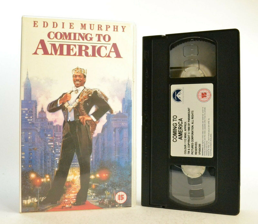 Coming To America: Comedy Classic (1998) - Digitally Sourced - E.Murphy - VHS