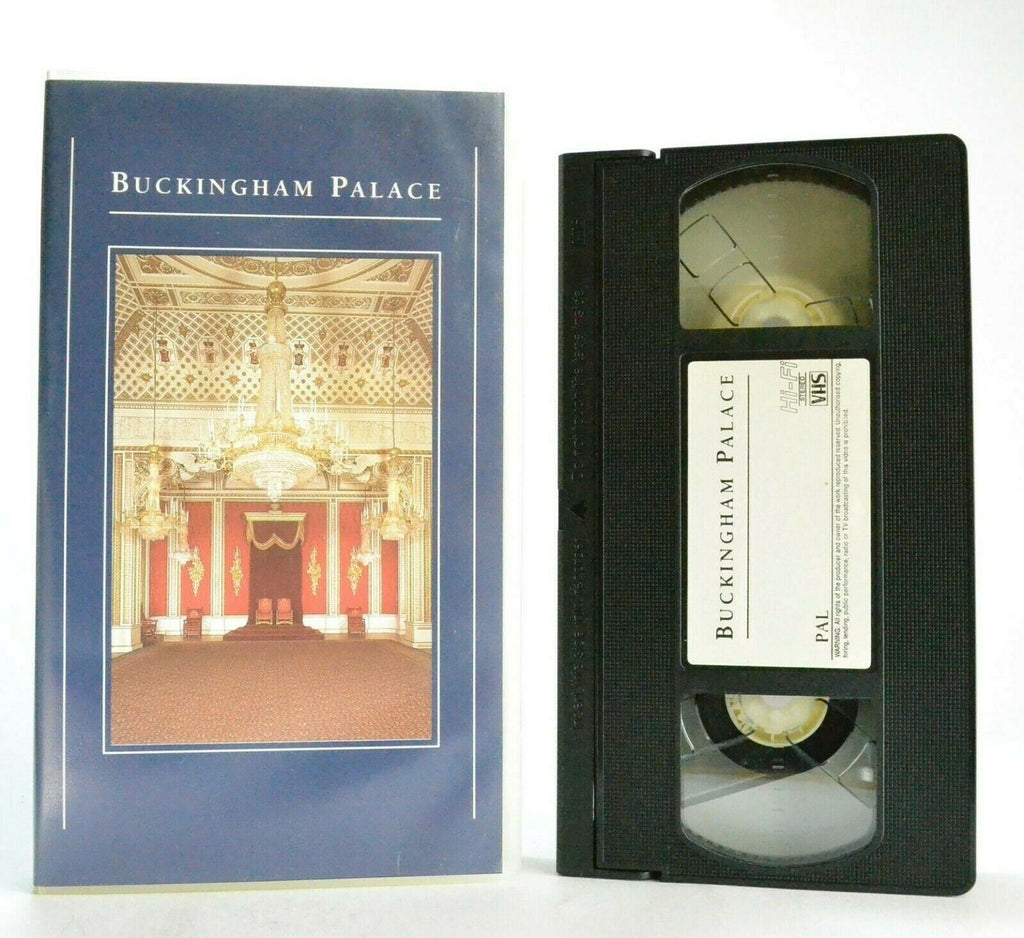 Buckingham Palace - Unique Video - Splendors Of The Royal Collection - Pal VHS