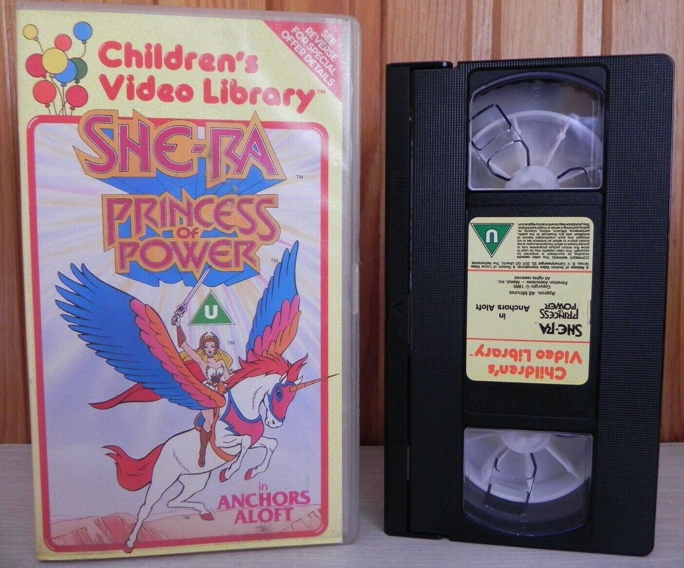 She-Ra: Season 1 (1985) Anchors Aloft - Vestron Children's Video - Pal VHS