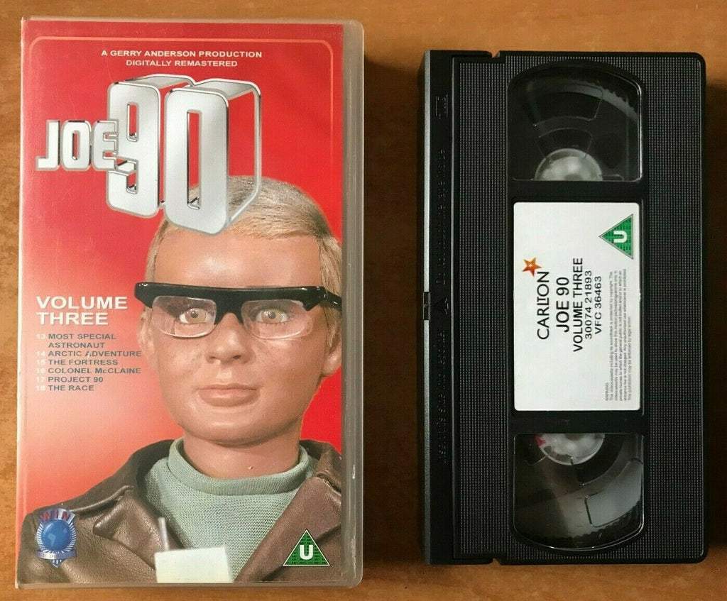 Joe 90 (Vol.3); [Digitally Remastered]: The Fortress - Gerry Anderson - Pal VHS