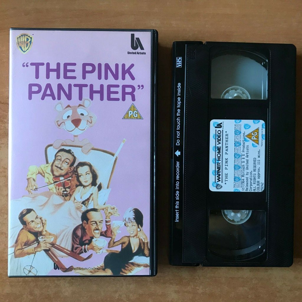 The Pink Panther [Blake Edwards] Comedy - Peter Sellers/Claudia Cardinale - VHS