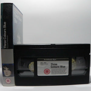 Three Colours Blue: Film By K.Kieslowski - France (1993) - J.Binoche - Pal VHS