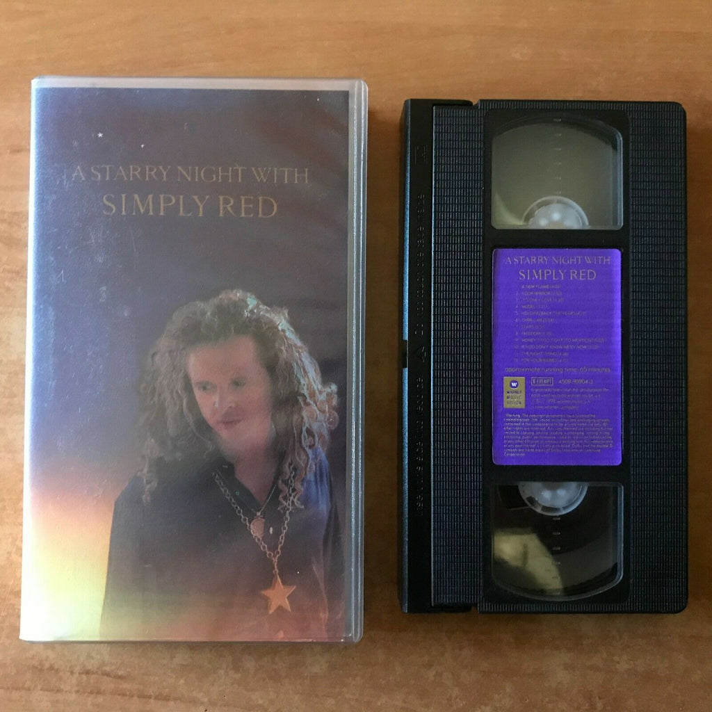 A Starry Night With Simply Red - Live Performance - (1992) Hamburg - Pal VHS