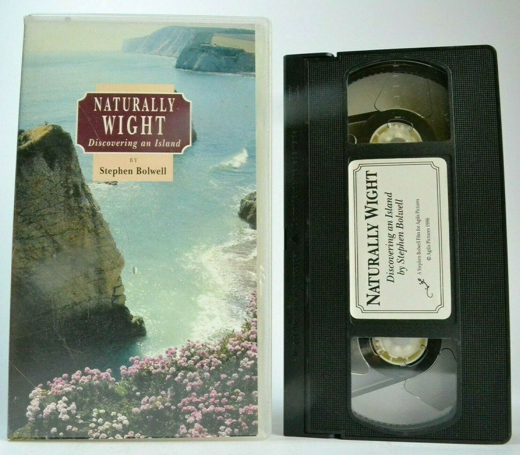 Naturally Wight: Discovering An Island - Stephen Bolwell - Queen Victoria - VHS