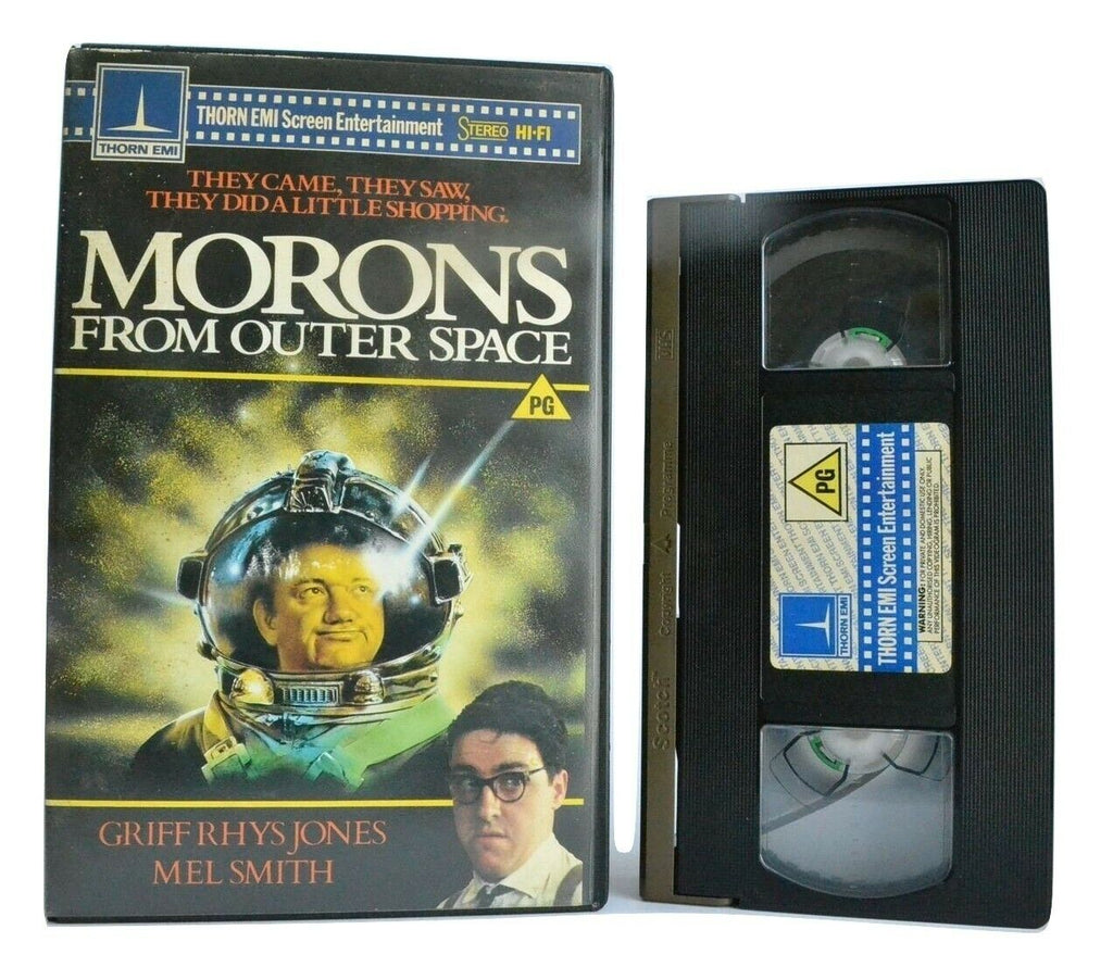 Morons From Outer Space (1985): A Mike Hodges Film - British Sci-Fi/Comedy - VHS