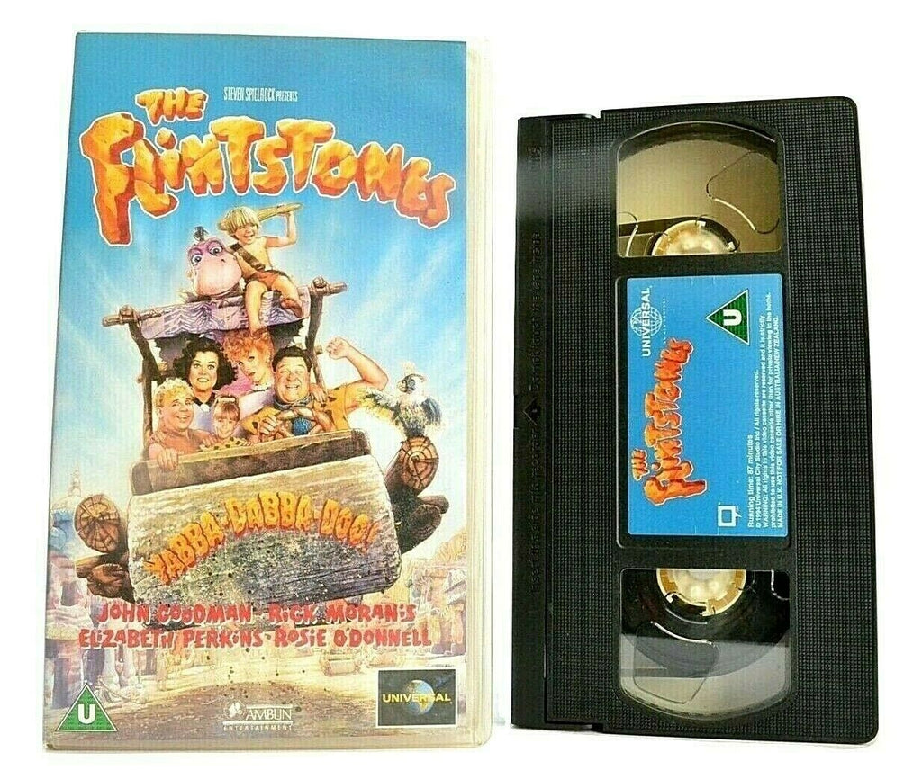 The Flintstones (1994) - Comedy - John Goodman / Rick Moranis - Children's - VHS