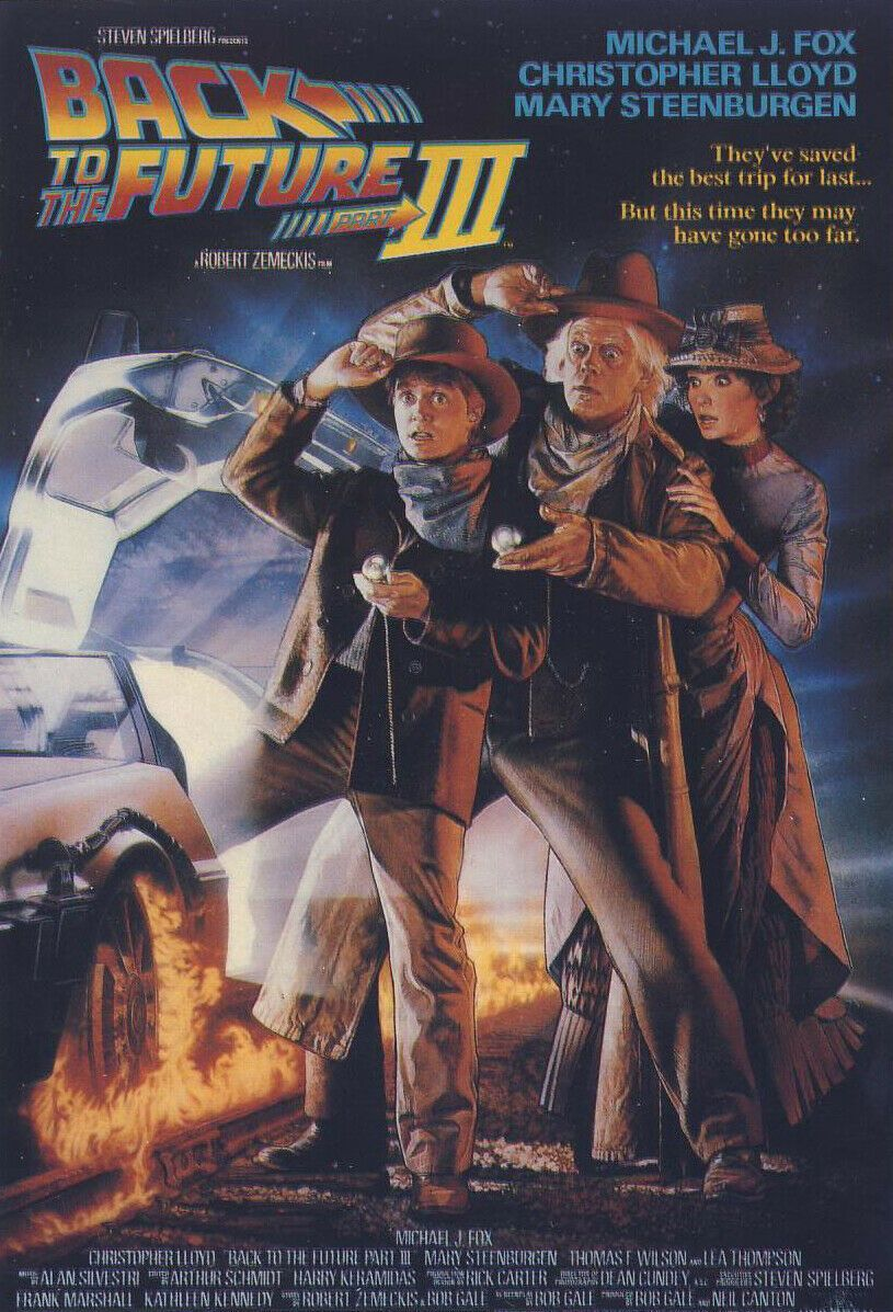 Back To The Future 3 (1990): Sci-Fi Adventure - Michael J. Fox [Big Box] - VHS