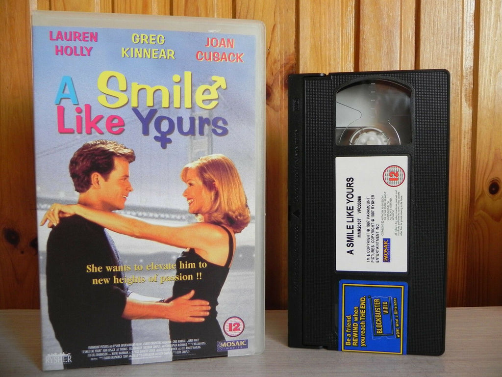 A Smile Like Yours: Romantic Comedy - Large Box [Rental] Greg Kinnear - Pal VHS