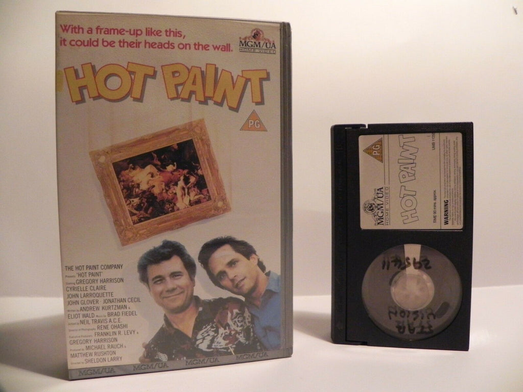 Hot Paint: T.V Movie (1988) Crime Comedy - A.Anderson - M.Austin - Pal Betamax