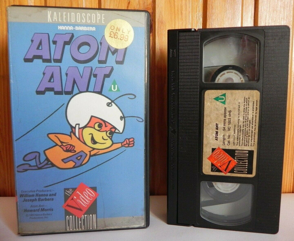 Atom Ant; [Kaleidoscope] Hanna-Barbera - Animated Adventures - Children's - Pal VHS