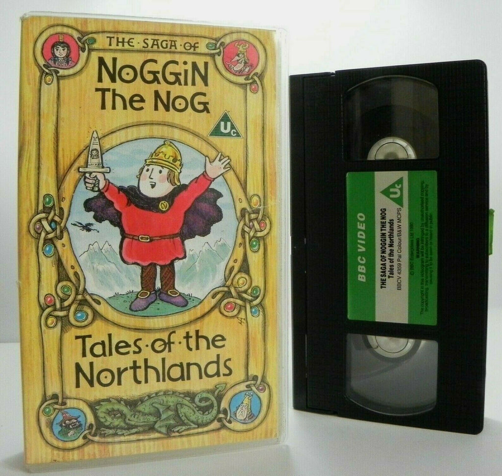 The Saga Of Noggin The Nog: Tales Of The Northlands - Epic Animation - Pal VHS