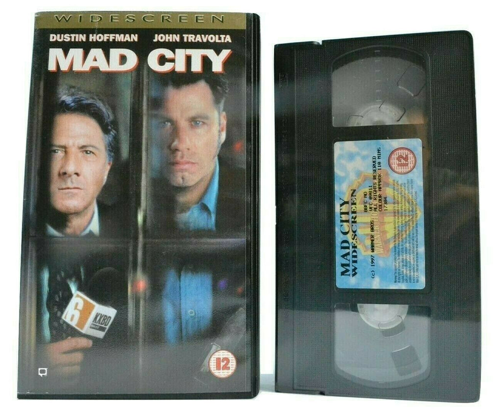 Mad City (1997): Thriller [Brand New Sealed] Widescreen - John Travolta - VHS
