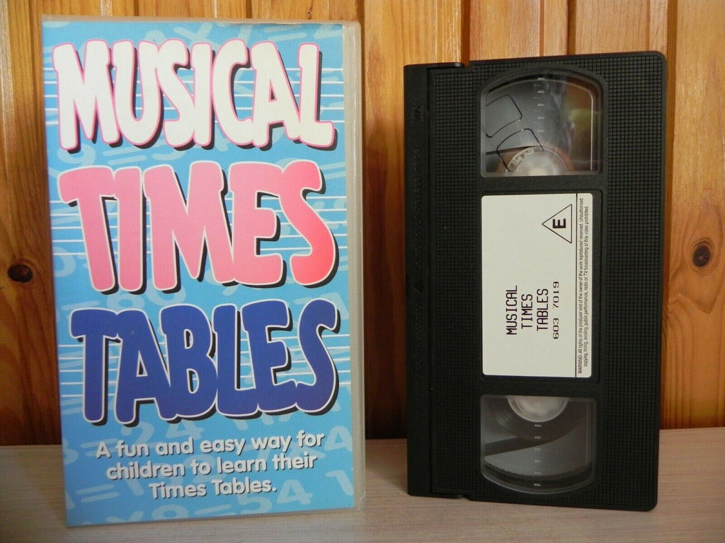 Musical Time Tables - Learning Methods For Children - Music - Kids - Pal VHS