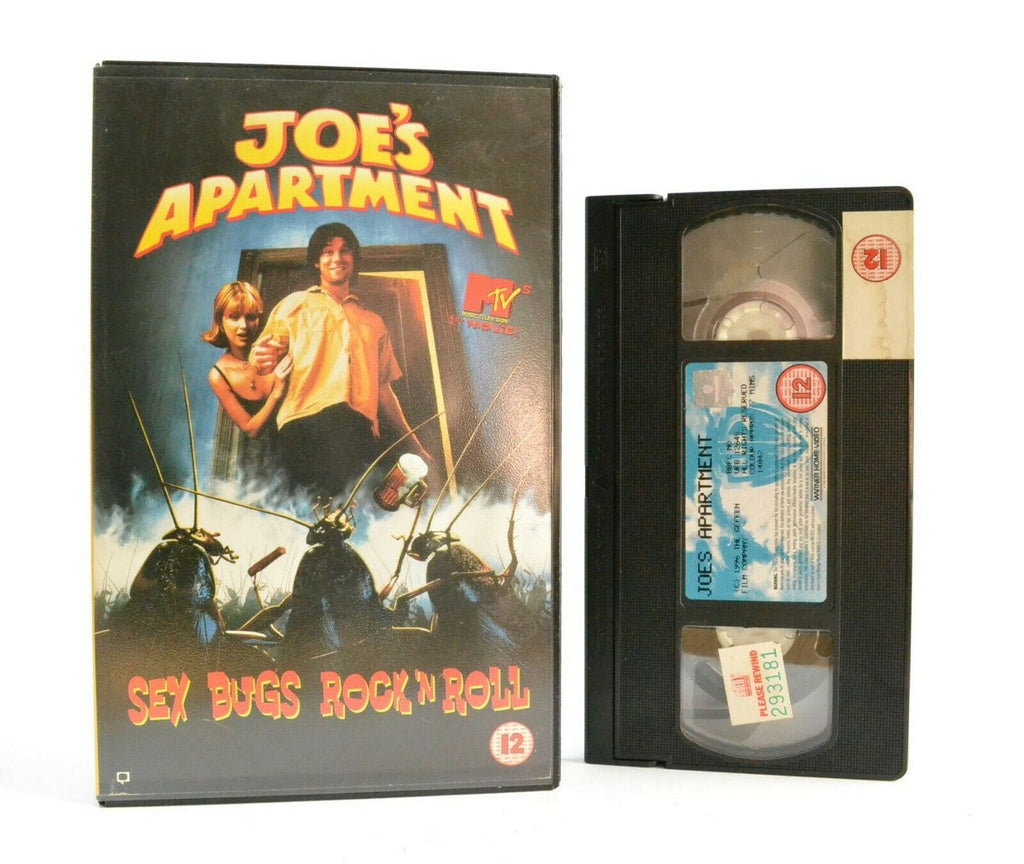 Joe's Apartment: MTV's 1st Movie - Comedy - Large Box - Ex-Rental - Pal VHS