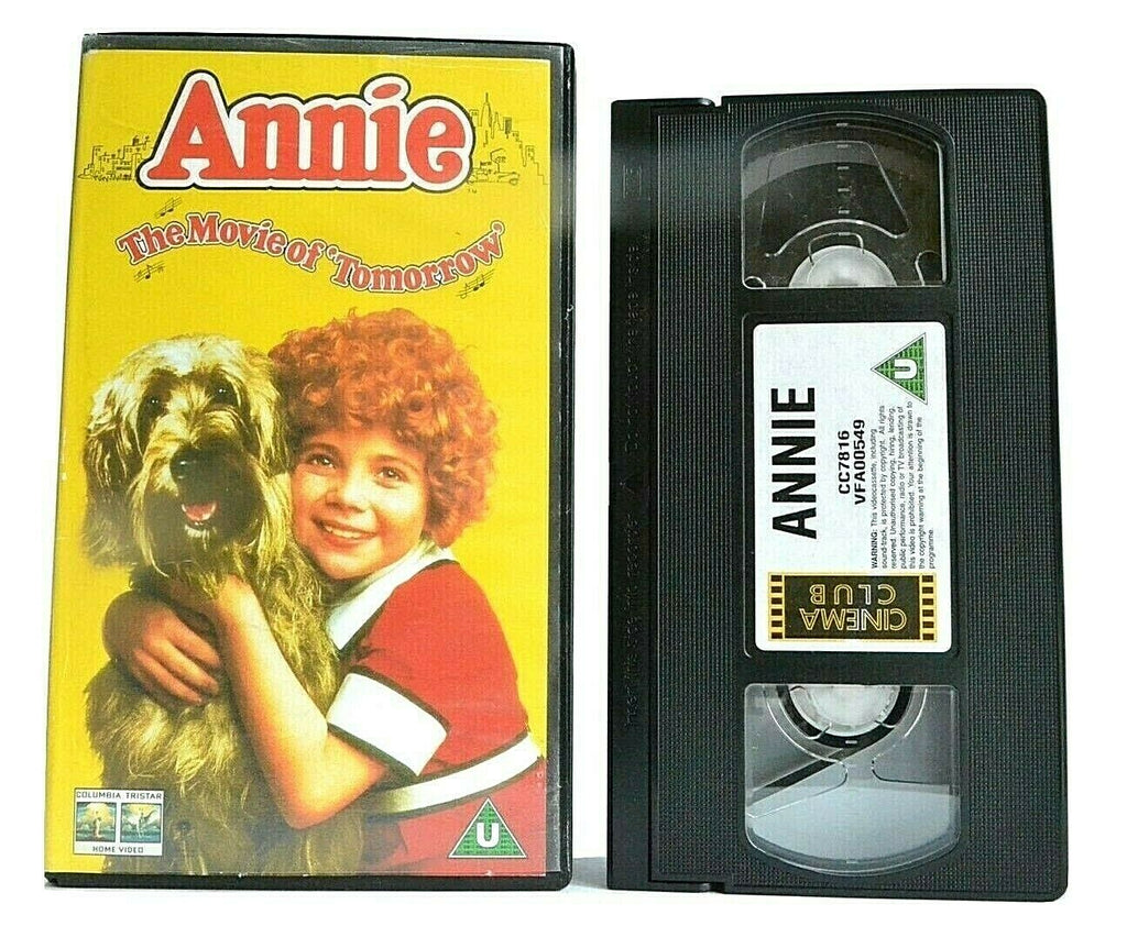 Annie, Annie (1982), Comedy, Curry, Drama, Movie, Musical, Musicals & Broadway, Of, PAL, The, Tim, VHS