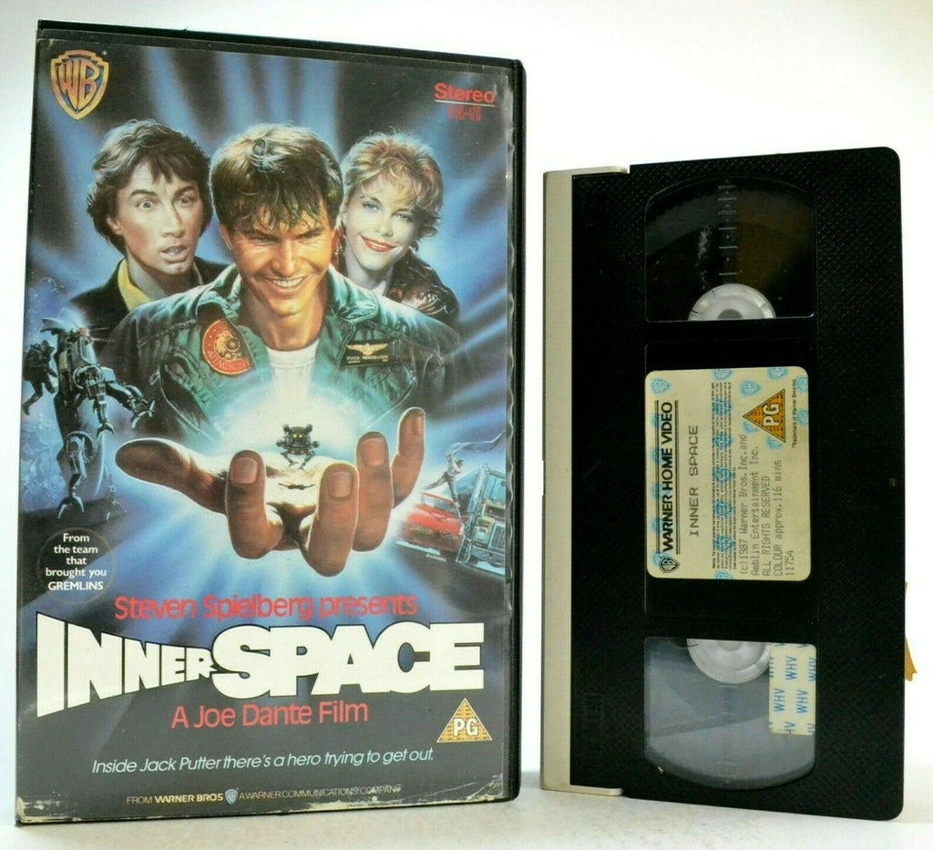 Box, Dennis Quaid, Film, Inner, Inner Space, Inspired, Large, Pal, VHS