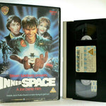 "Inner Space: ""Fantastic Voyage"" Inspired Film - Large Box - D.Quaid - Pal VHS"