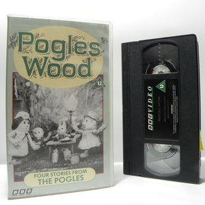 Pogless Wood: 4 Stories - By Olivier Postgate - Animated - Children's - Pal VHS