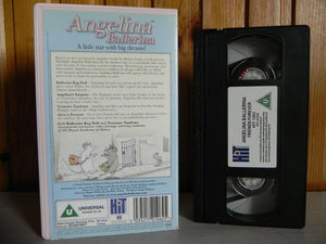 Angelina Ballerina - Friends Forever - Hit Entertainment - Cartoon - Kids - VHS