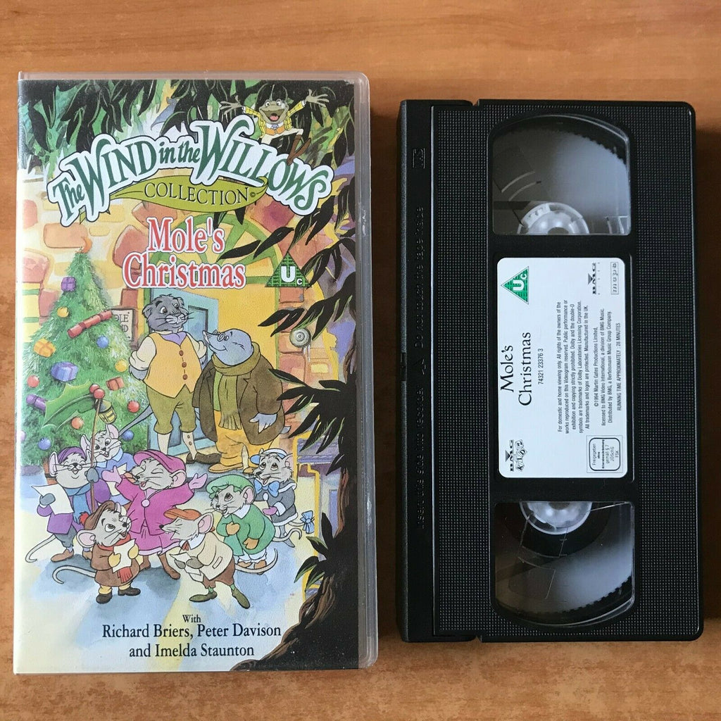 The Wind In The Willows [Collection]: Mole's Christmas - Richard Briers - VHS