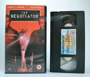 The Negotiator: Samuel L.Jackson/Kevin Spacey - (1998) Action Thriller - Pal VHS