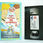 Adult, And, Animated, Beavis, Beavis and Butt-Head, By, Comedy, Do, No, PAL, Road, VHS