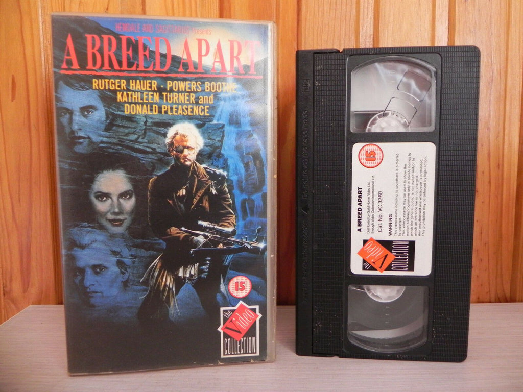 Action & Adventure, Apart, Breed, Collection, Deleted Title, Donald, Drama, Hauer, PAL, Pleasance, Rutger, VHS, Video