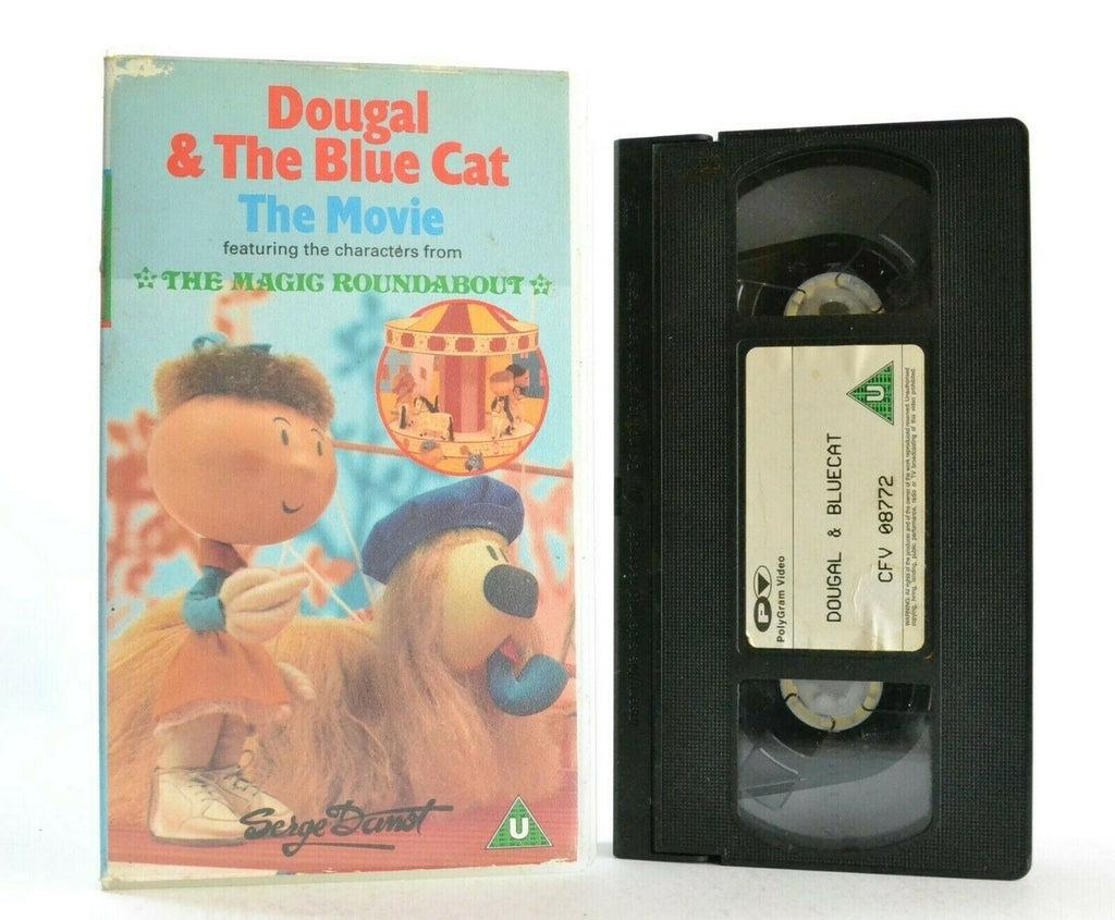 Dougal And The Blue Cat: The Movie - The Magic Roundabout - Children's - Pal VHS