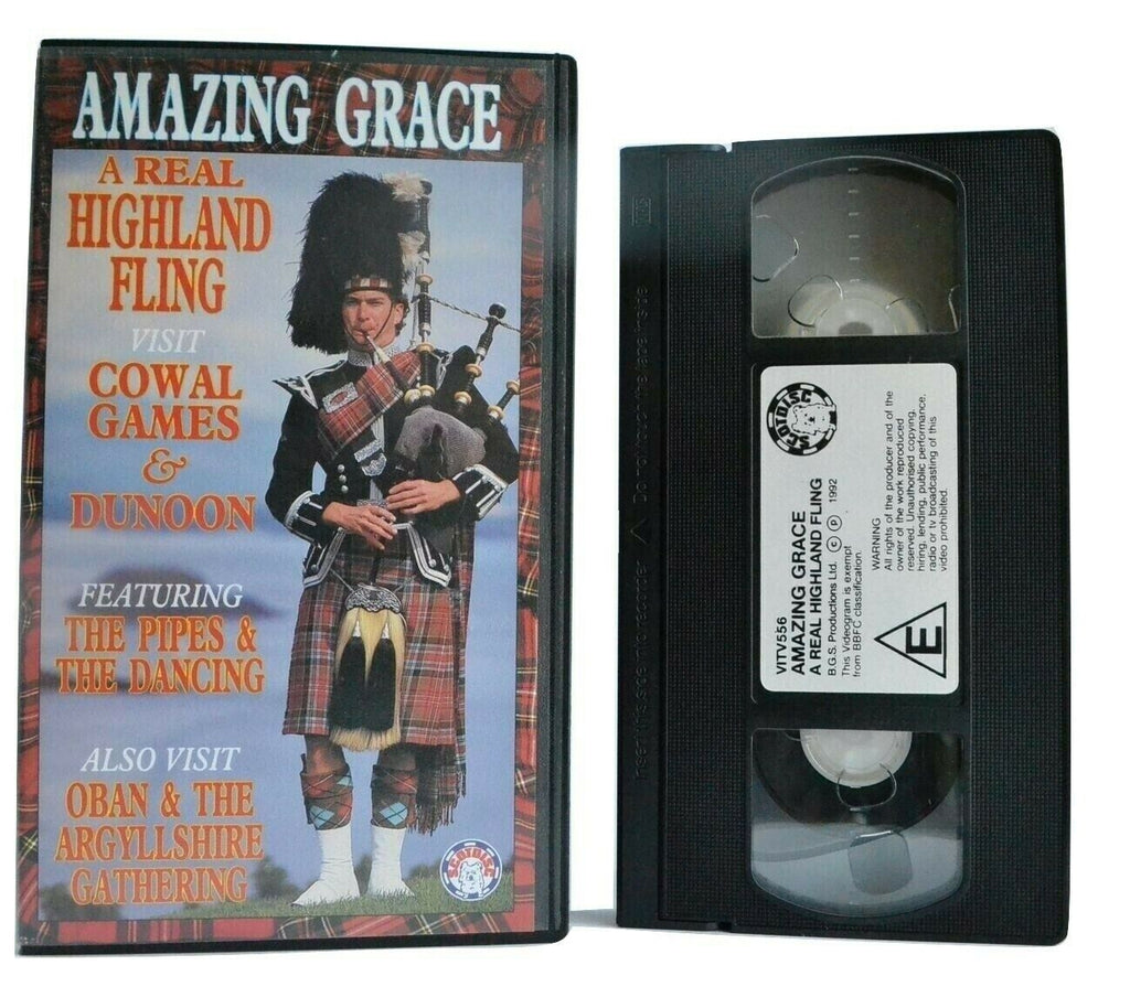Amazing Grace: A Real Highland Fling - Cowal Games And Dunoon - Music - Pal VHS