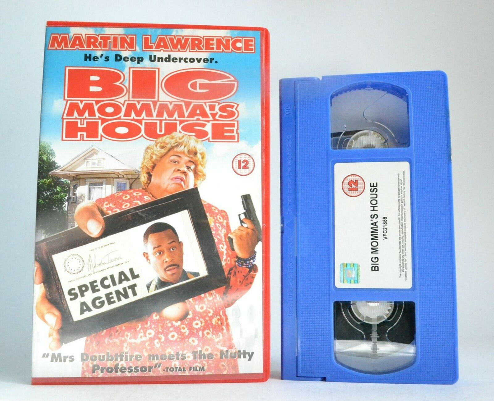 Big Momma's House: XXL California Action - Martin 'Bad Boy' Lawrence - Pal VHS