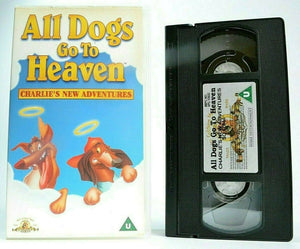 Adventures, All, Animated, Children's & Family, Dogs, Go, Heaven, Musical, New, Pal, To, U, United Kingdom, VHS