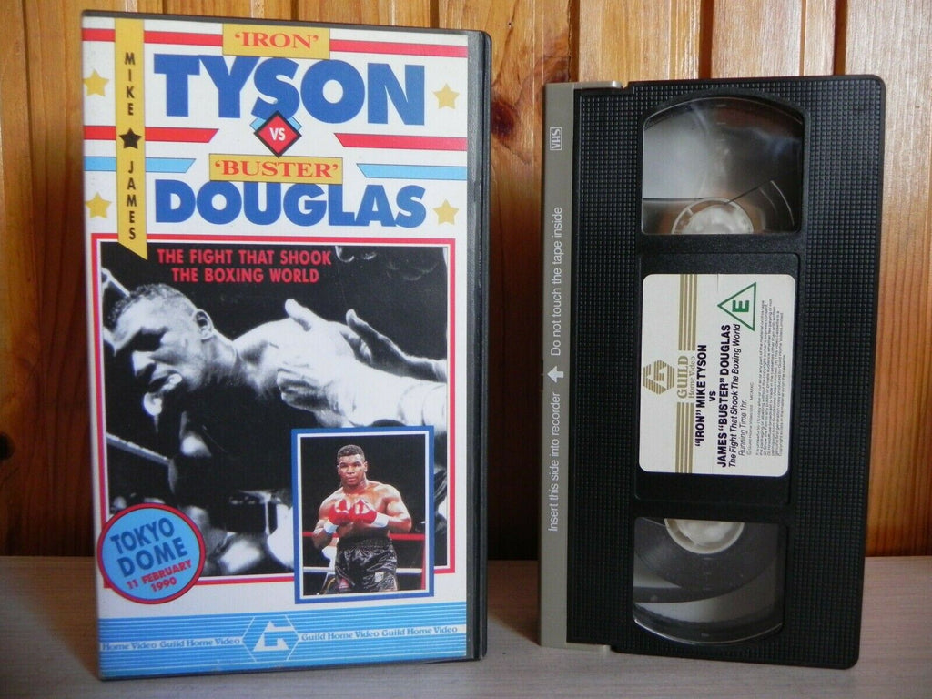 Iron' Tyson VS 'Buster' Douglas: Boxing At The Tokyo Dome (11/02/1990) Pal VHS