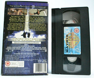 The Matrix (1999) - <<Widescreen>> - Sci-Fi Action - [Keanu Reeves] - Pal VHS