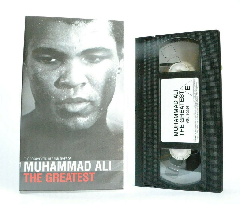 Muhammad Ali: The Greatest - Documentary - Special Collectors Issue - Pal VHS