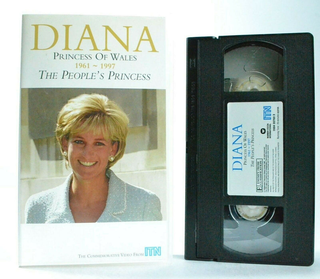 Diana: The People's Princess - (1997) Documentary - Princess Of Wales - Pal VHS