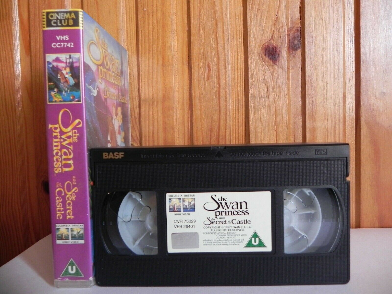 The Swan Princess 2: Escape From Mountain Castle (1997) - Vintage Children's VHS