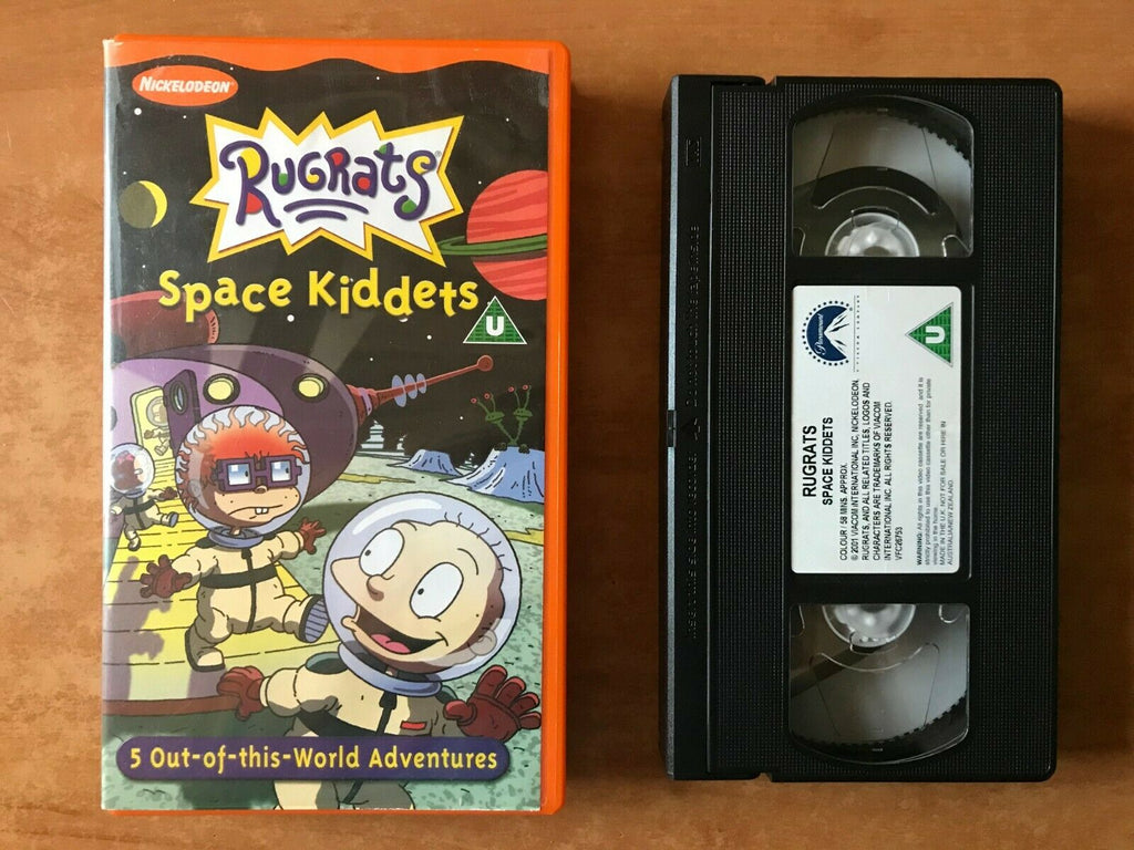 Rugrats: Space Kiddets [Nickelodeon] Animated Adventures - Children's - Pal VHS