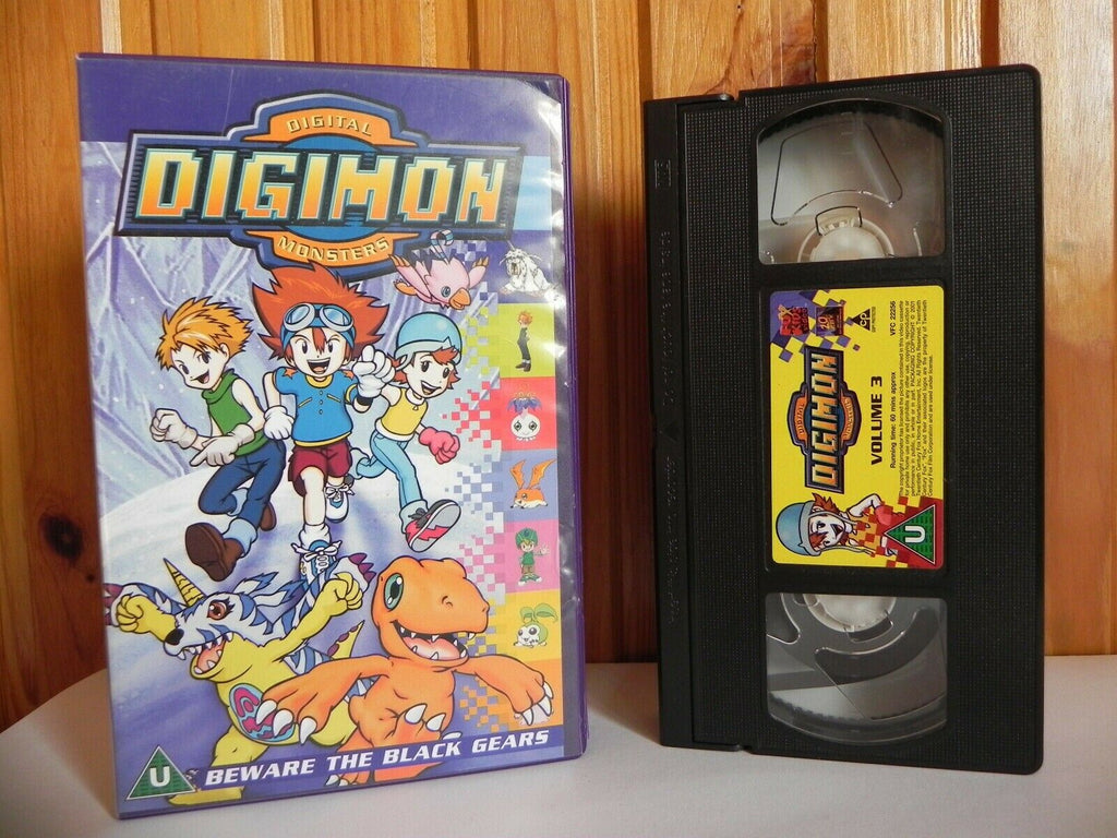 Digimon Digital Monsters - Fox Kids Video - Animated - Adventure - Kids - VHS