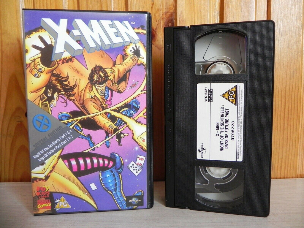 X-Men - Special Edition - Days Of The Future Past - Marvel Comics - Kids - VHS