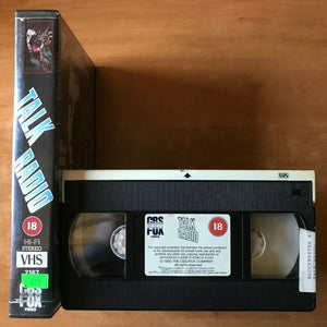 Talk Radio; [Oliver Stone] True Story Drama - Large Box - Alec Baldwin - Pal VHS