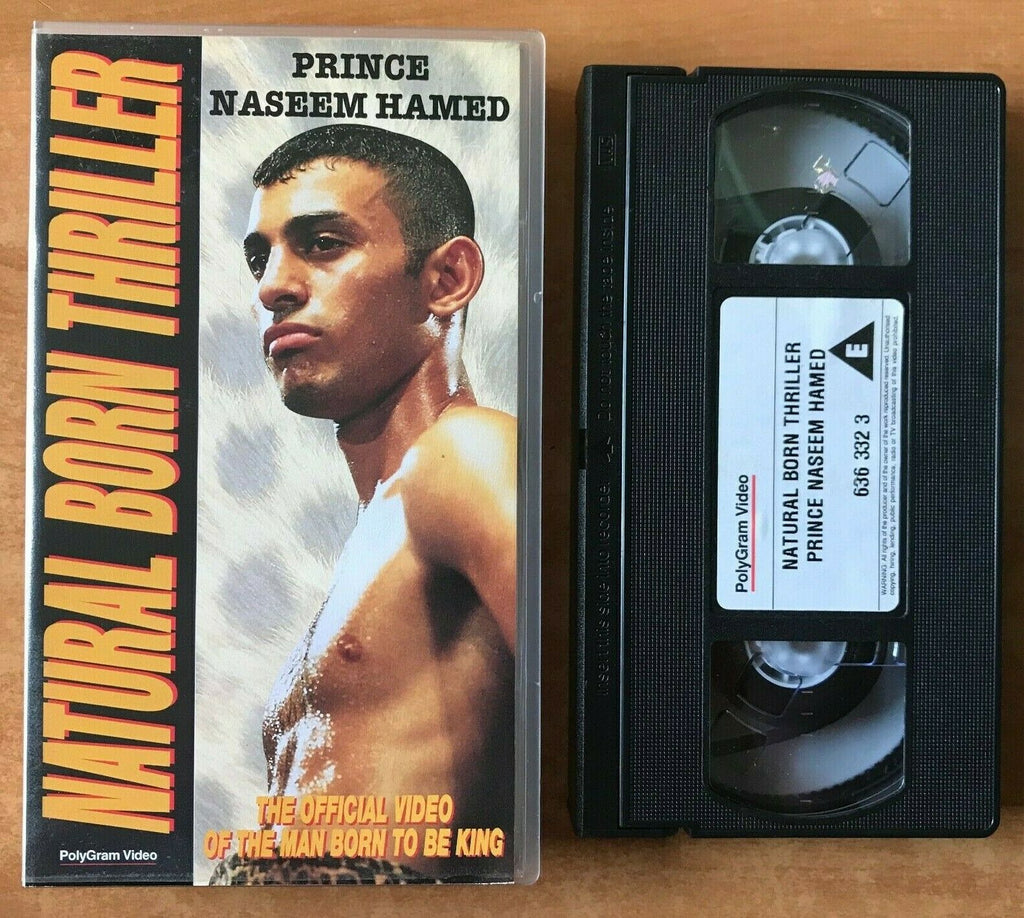 Natural Born Thriller: Prince Naseem Hamed [Documentary] - Boxing - Sports - VHS