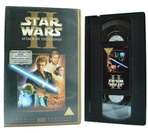 Star Wars 2: Attack Of The Clones - Epic Space Opera - L.Neeson - Sci-Fi - VHS