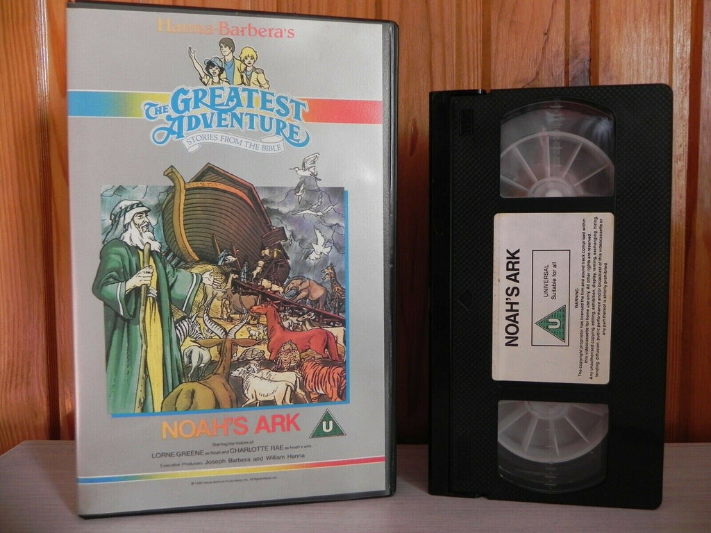 Stories From The Bible [Hanna Barbera]: Noah's Ark - Large Box - Animated - Children's - Pal VHS
