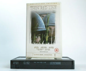 The Thin Red Line (1998): Collector's Edition - Epic War Drama - Sean Penn - VHS