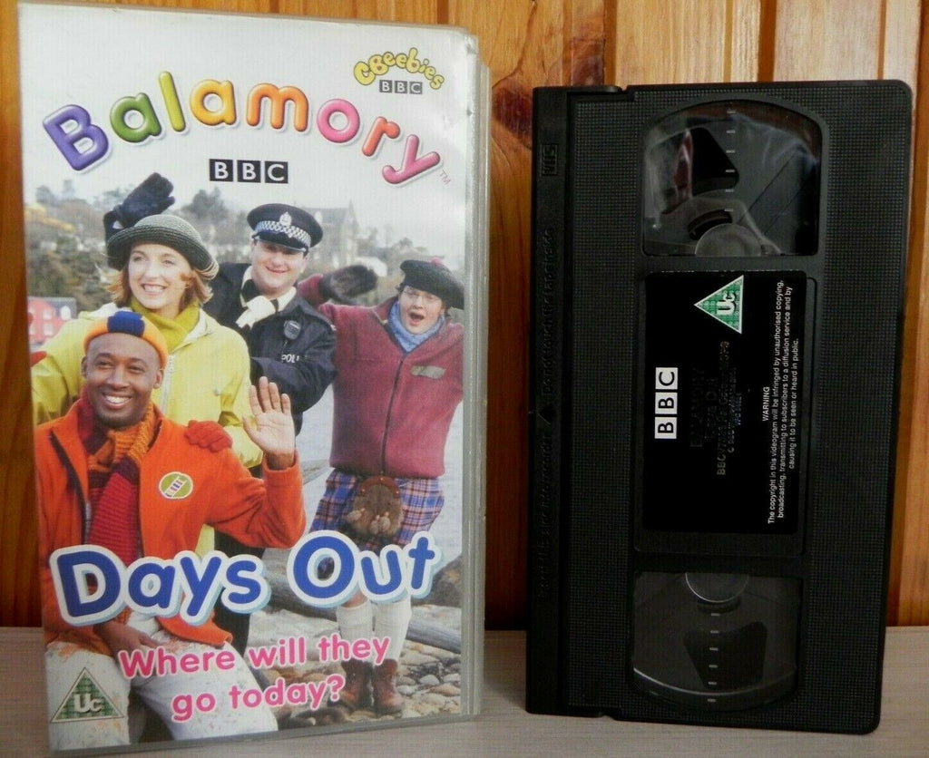 Adventures, BBC, Children's & Family, Days, Educational, Out, Pal, Series, U, United Kingdom, VHS