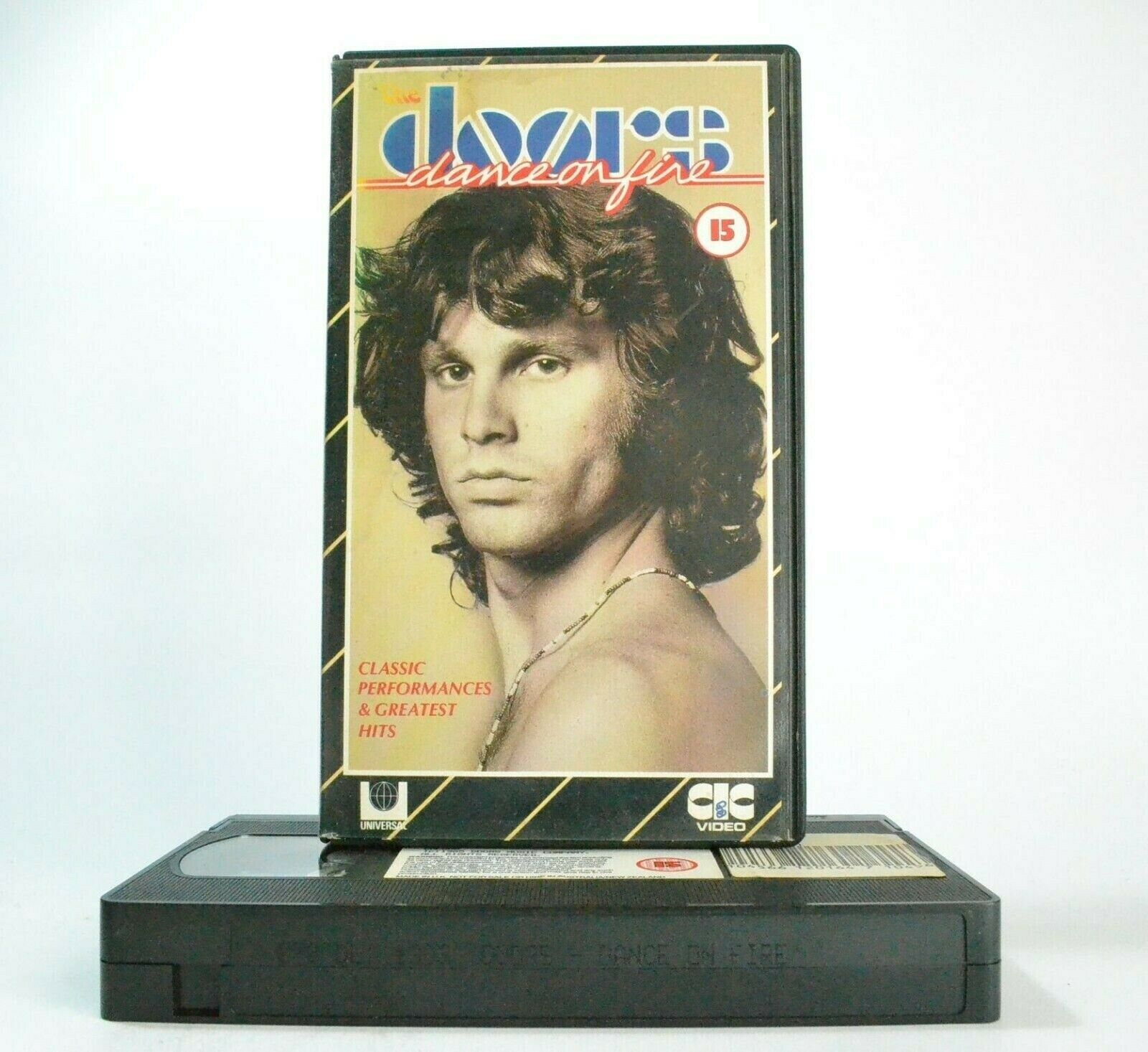 The Doors: Dance On Fire - CIC Video (1985) - Classic Performances - Pal VHS