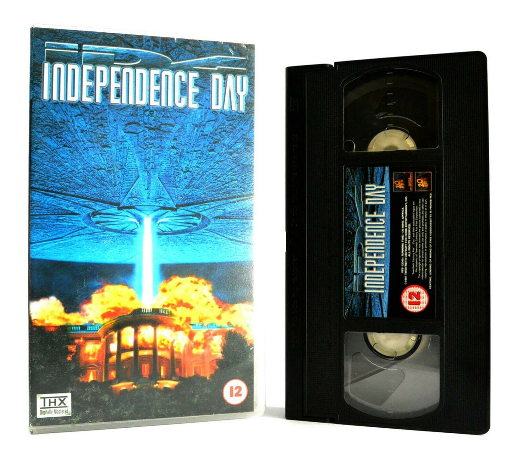 Independence Day: Sci-Fi Action (1994) - Aftermath Of A Worldwide Attack - VHS