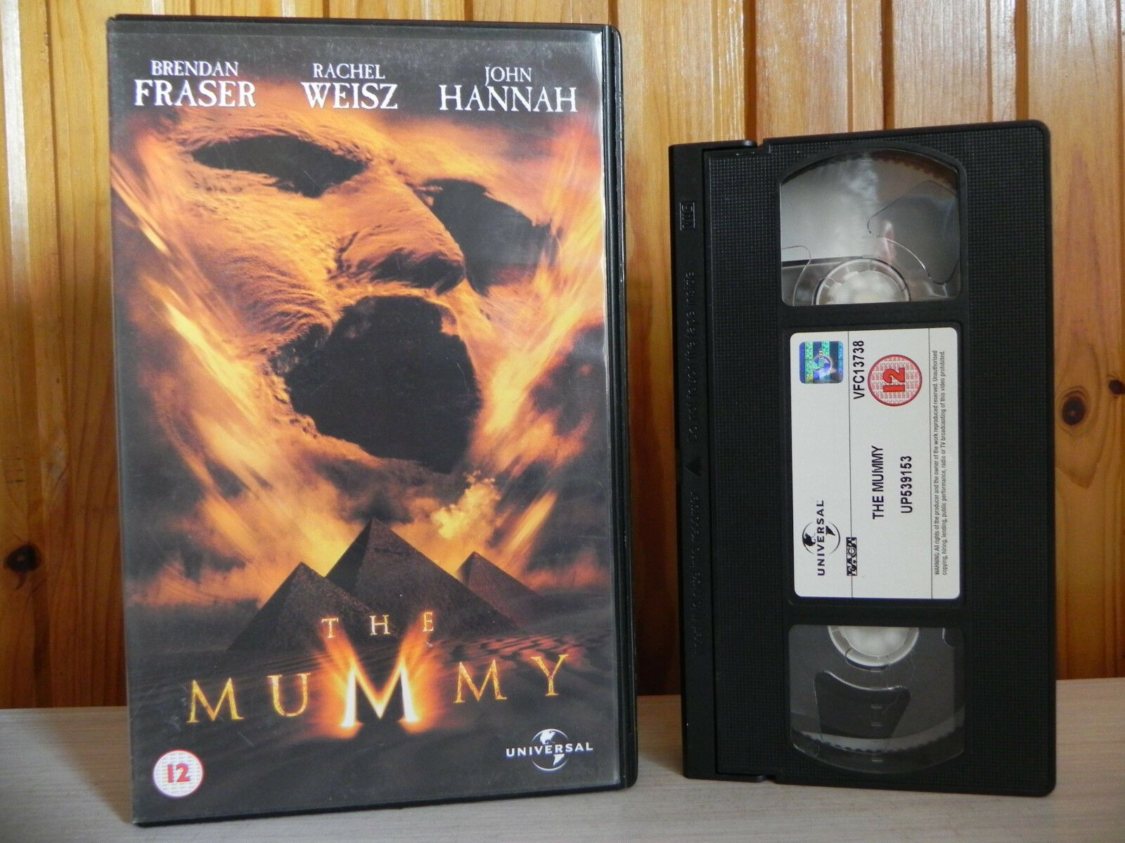 The Mummy (1999): Action Adventure [Large Box] Rental - Brendan Fraser - Pal VHS