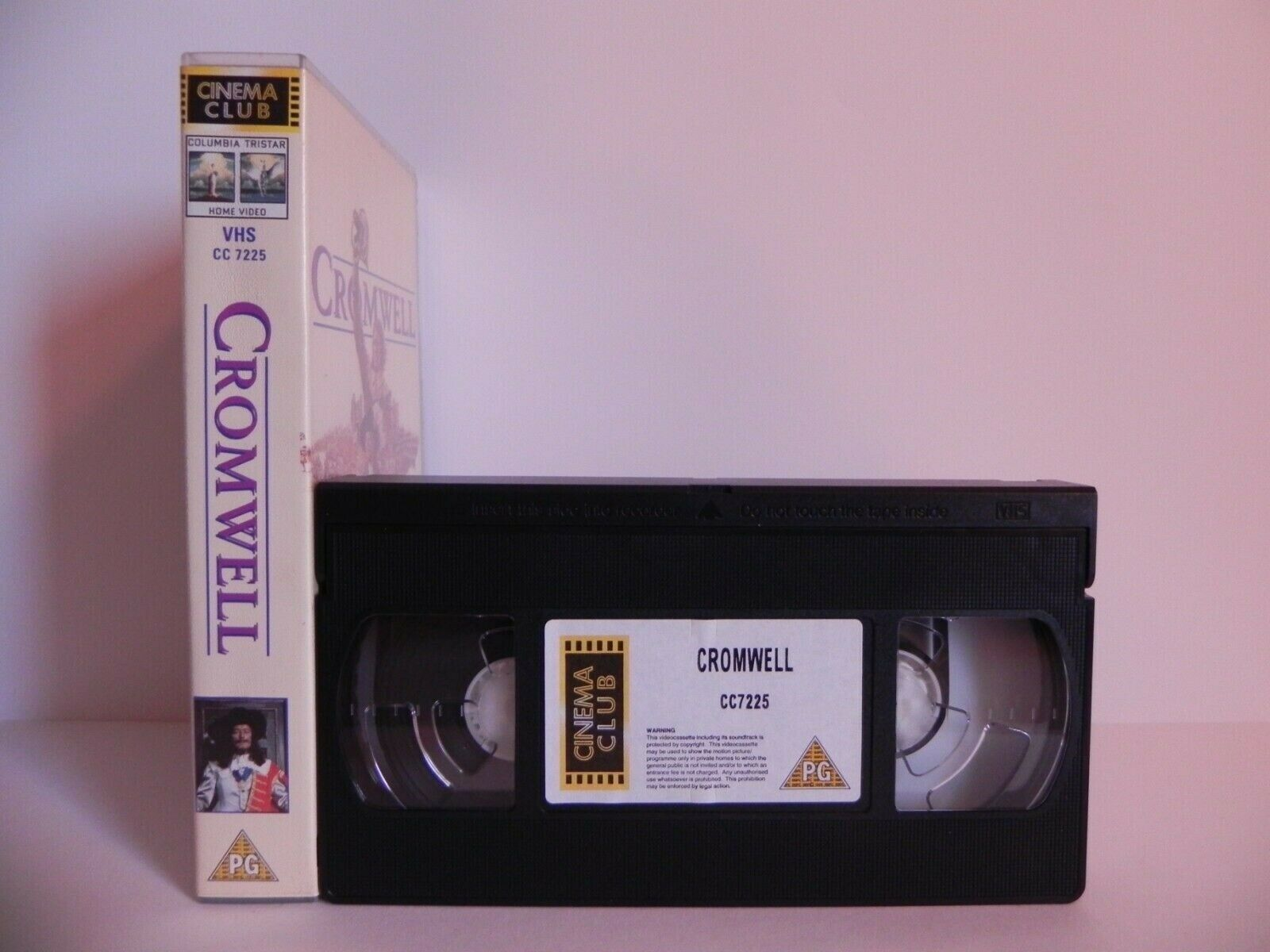Cromwell - Powerful Story - Civil War - Bloody Battle - Alec Guinness - Pal VHS